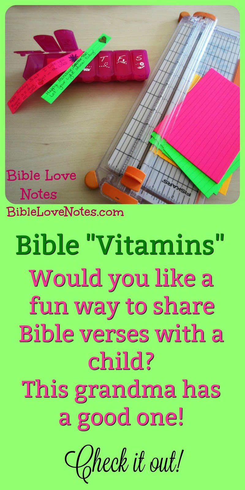 1-Minute Bible Love Notes: Bible Vitamins