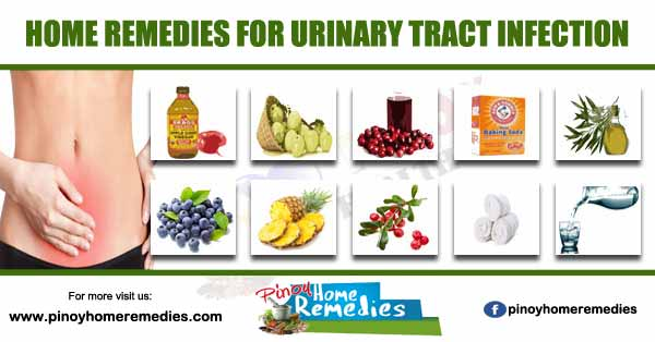 Home Remedies For Urinary Tract Infection (UTI)