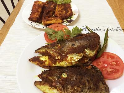 RECIPE FOR SALMON FISH / INDIAN  FRIED FISH RECIPE