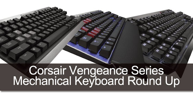 Corsair Vengeance Series Mechanical Keyboard Round Up 163
