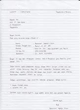Tulis Tangan Contoh Surat Lamaran Kerja Di Pabrik Sepatu Dapatkan Contoh