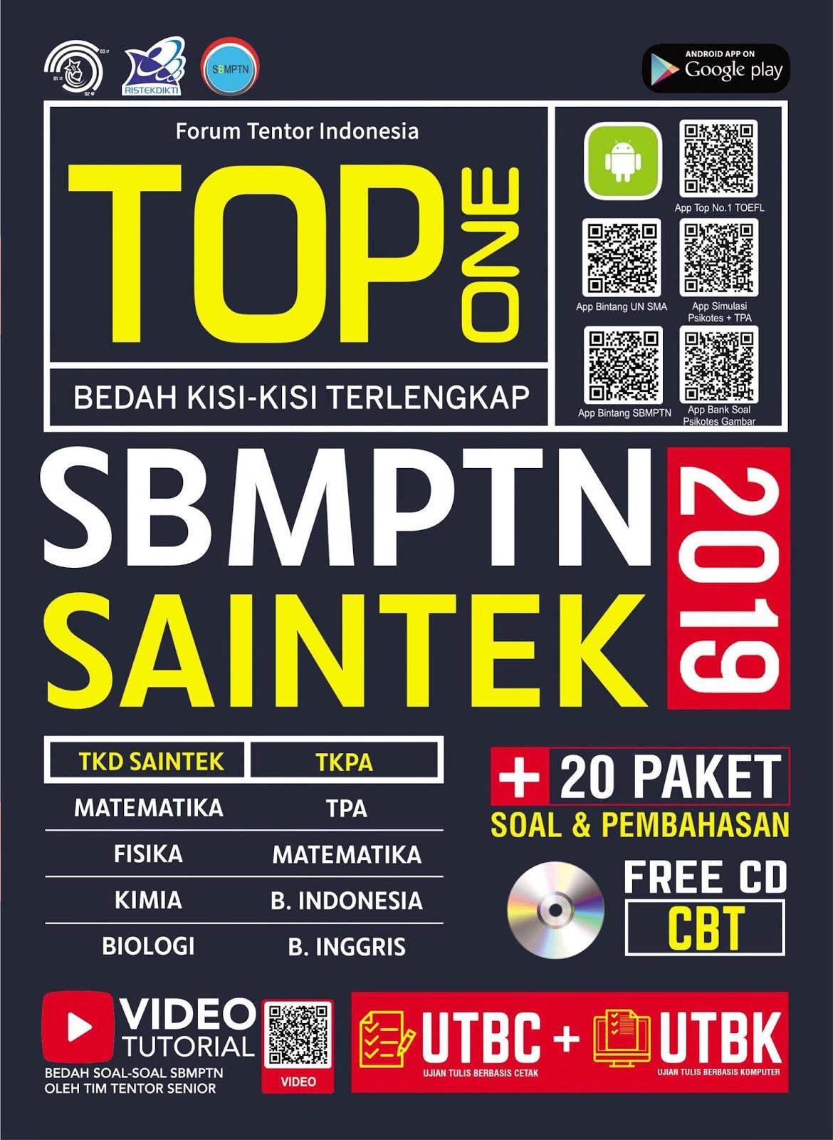 TOP One Bedah Kisi-kisi Terlengkap SBMPTN SAINTEK
