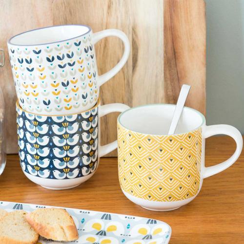 Print pattern maisons du monde portobello - Maison du monde mug ...