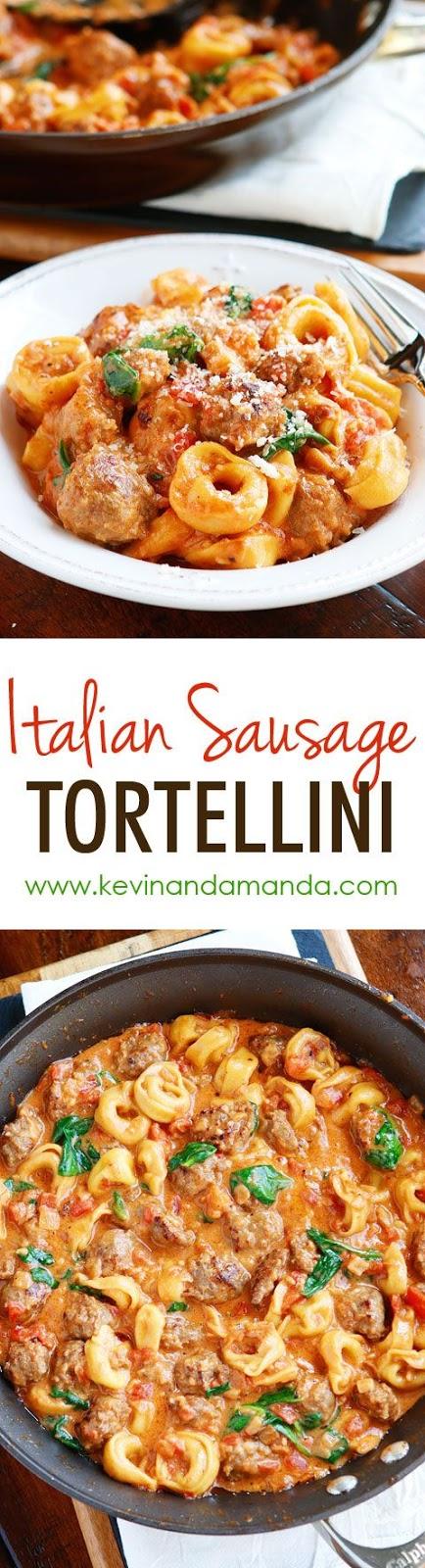 ITALIAN SAUSAGE TORTELLINI