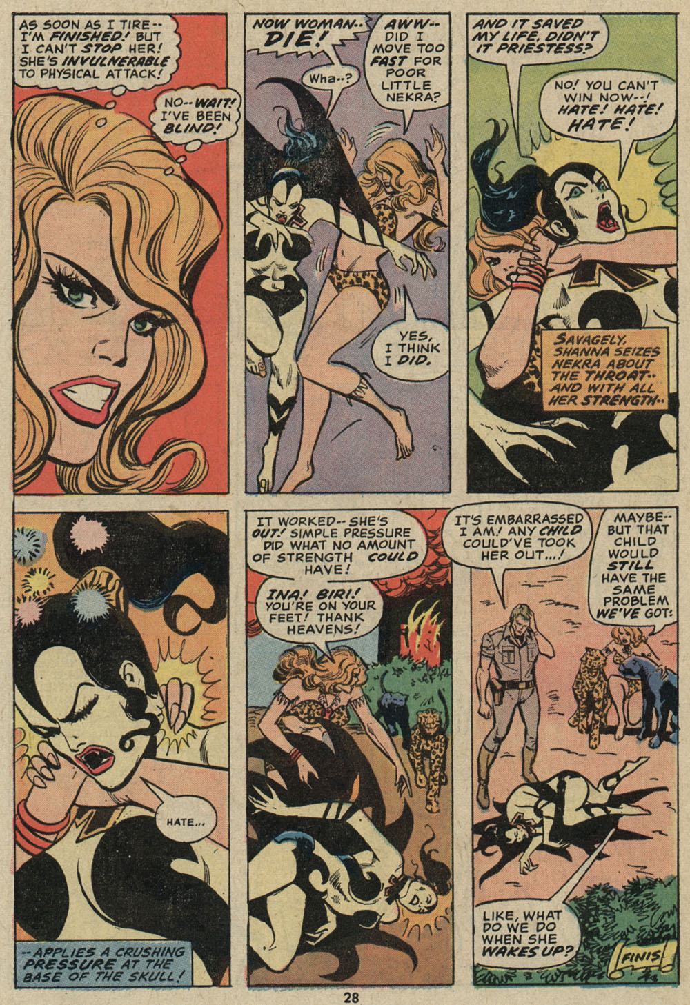 Read online Shanna, the She-Devil (1972) comic -  Issue #5 - 20