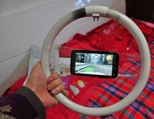 mobile phone steering