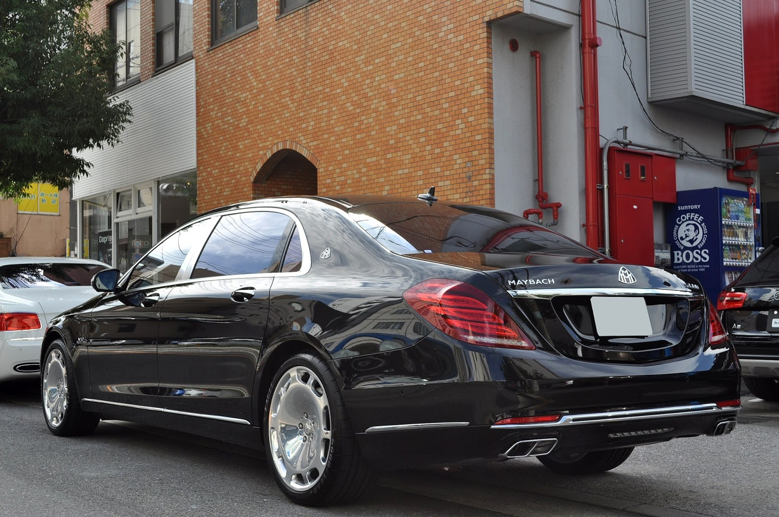 Mercedes maybach w222 s600 v12 benztuning for Mercedes benz s600 maybach