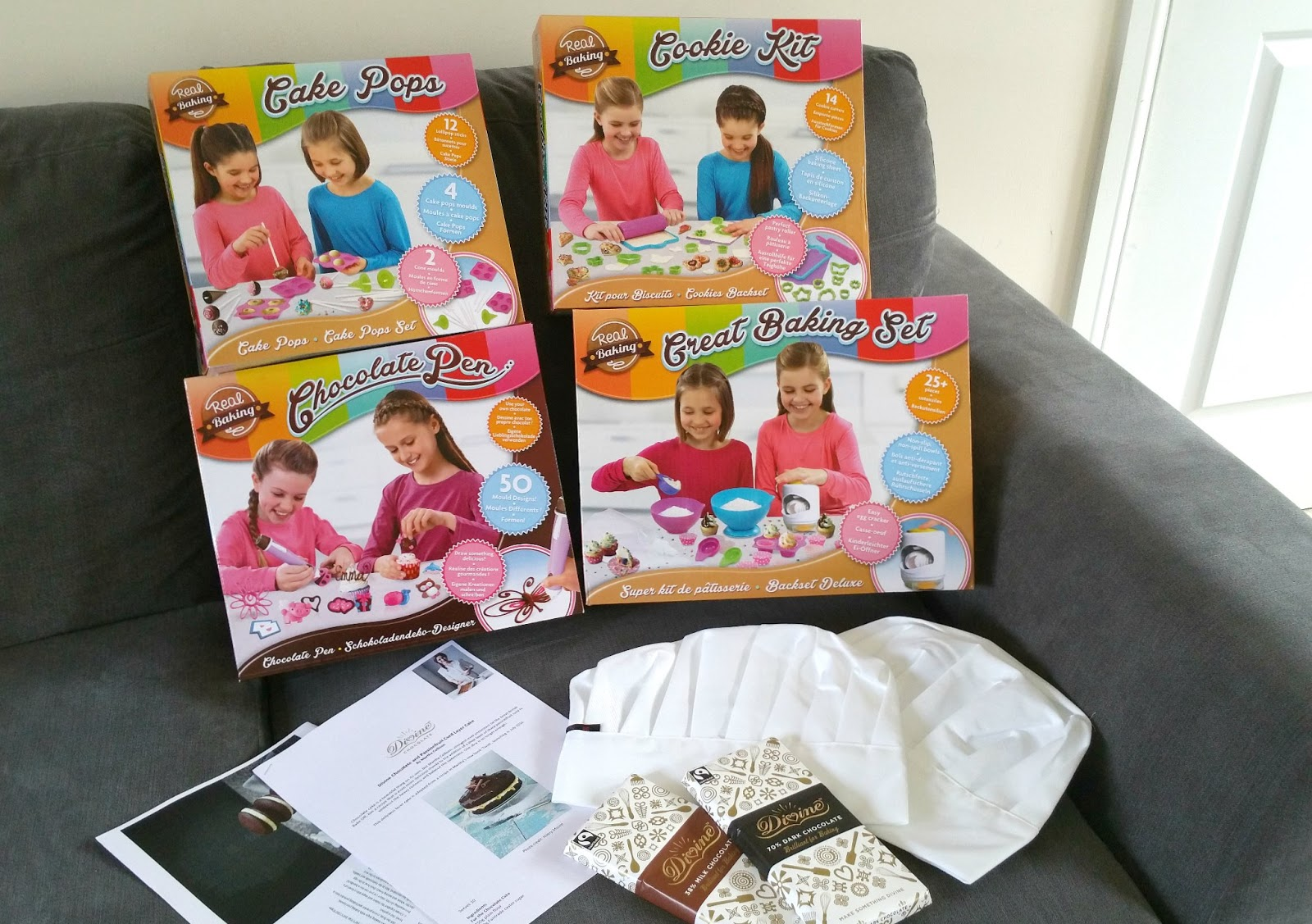 Great British Bake Off, Real Baking Children Baking Set, Iced Cookies