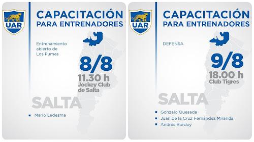 Capacitación UAR en Salta #PumasEnSalta #SaltaCrece