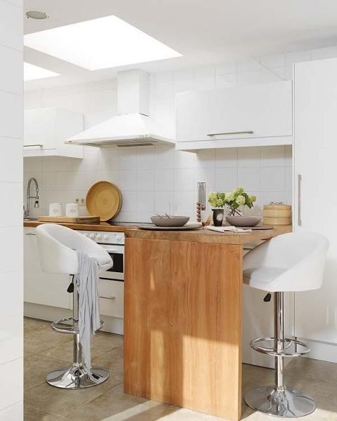 Good morning style cocinas pr cticas y luminosas for Mueble ikea cuadrados