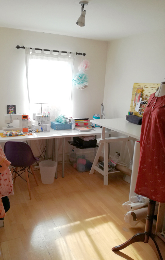 Sewing Space Tours... Ana's Sweet Sewing Space!