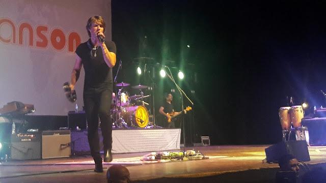 Taylor Hanson - MOE Tour - Foto por: Fernanda Rodrigues | Algumas Observações