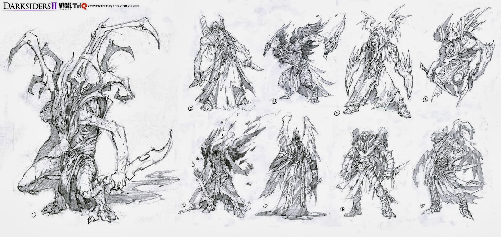 Darksiders 2 Character Concept Art