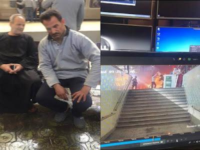 """شاهد بالفيديو.. بطل إنقاذ ضحايا حادث محطة مصر: """"النار كانت بتشويهم ومفكرتش غير إني أطفيهم"""""""