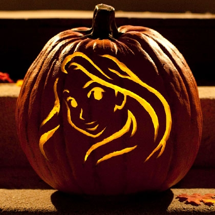 rapunzel pumpkin template sasaki time rapunzel pumpkin carving template