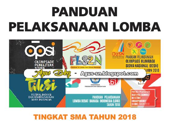INFO LENGKAP LOMBA LOMBA SETINGKAT SMA TAHUN 2018