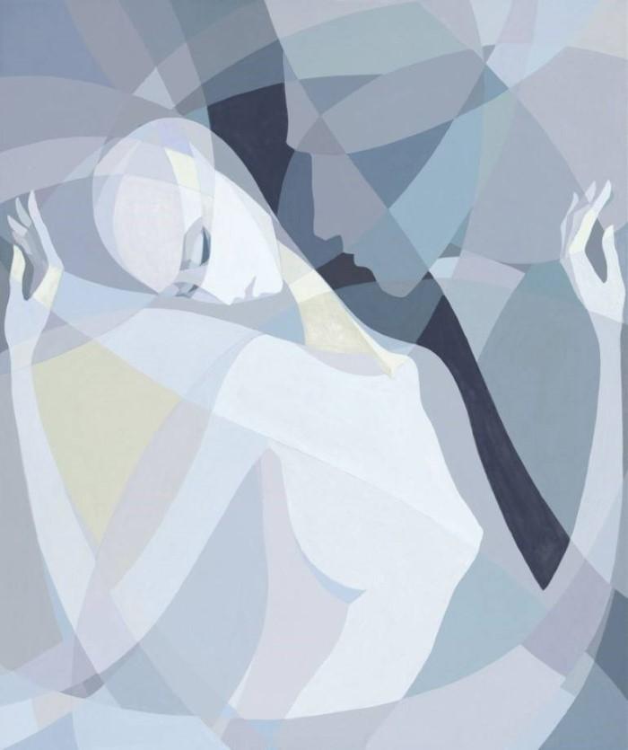Картины для романа Кафки. Paola Minekov