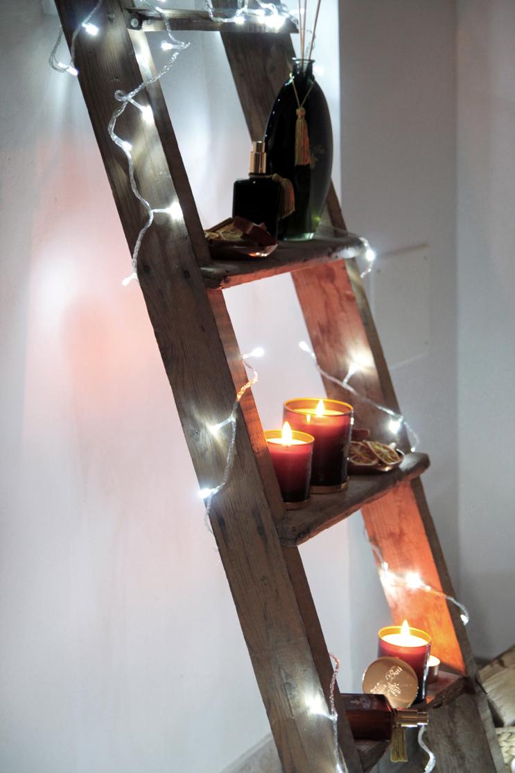 scaletta legno per interior design tendenze arredamento recupero