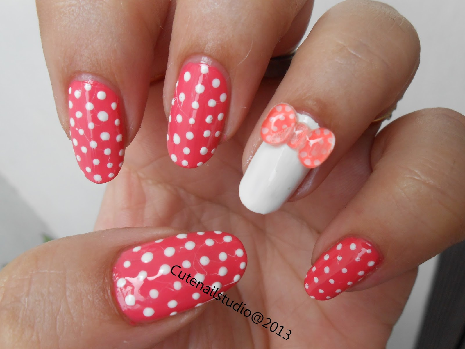 Cute Nails 3d Bow Nail Art Nail Art Design Ideas Collection