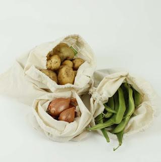 bolsas algodón organico para granel