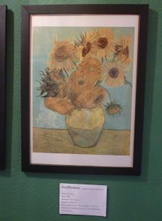 Pinacothèque Jesse Guelfi - Aula particular de inglês com Arte - Sunflowers