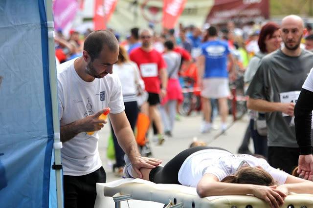 Florin Chindea. Maseur la Evenimente Sportive de alergare, înot, ciclism, triatlon sau altele