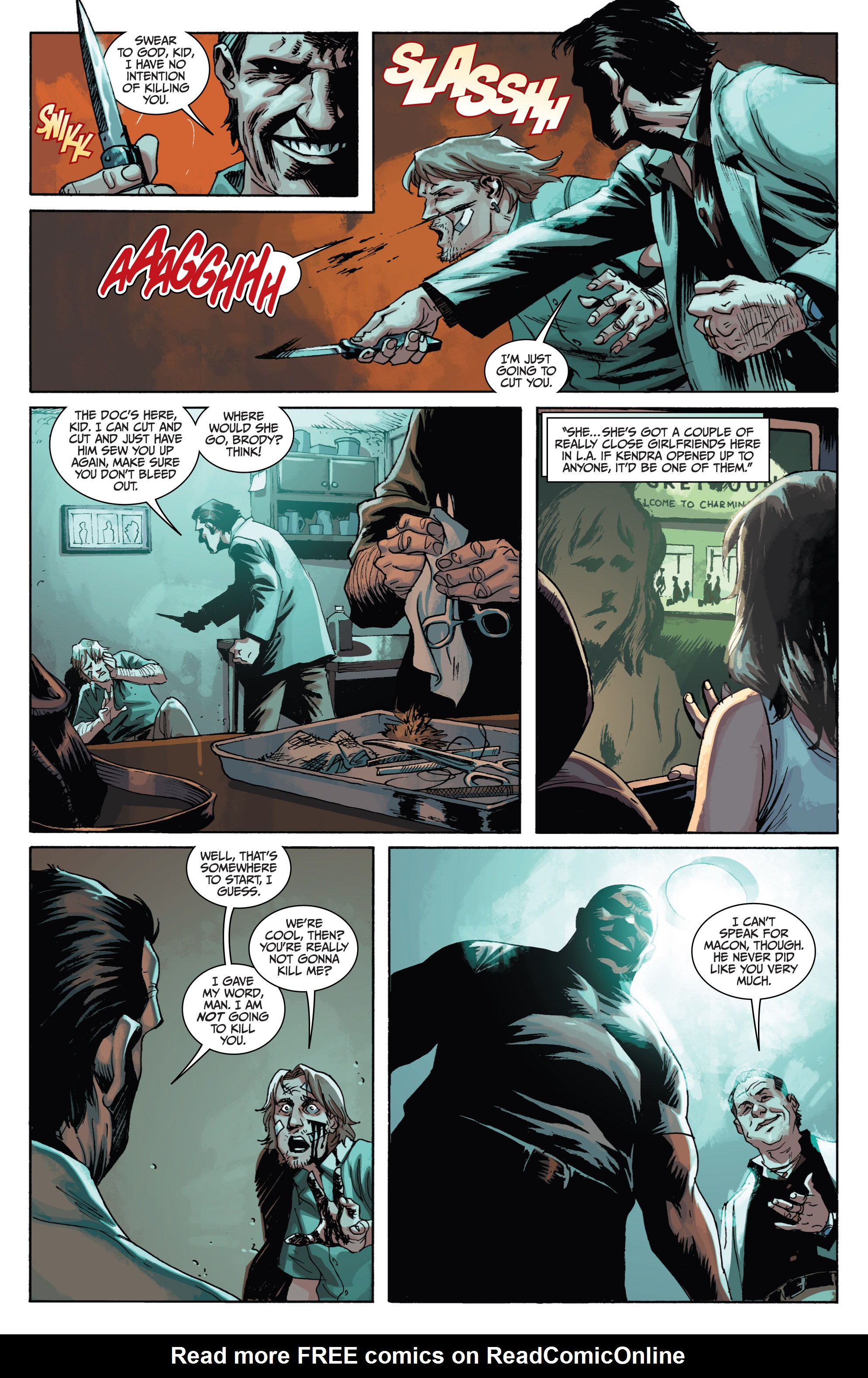 Read online Sons of Anarchy comic -  Issue #1 - 10