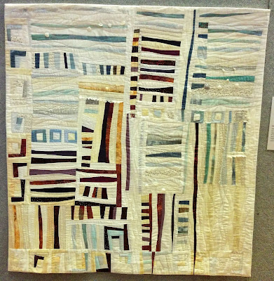 Creates Sew Slow: Creative Construction 2017 - Water's Edge by Anne Groufsky