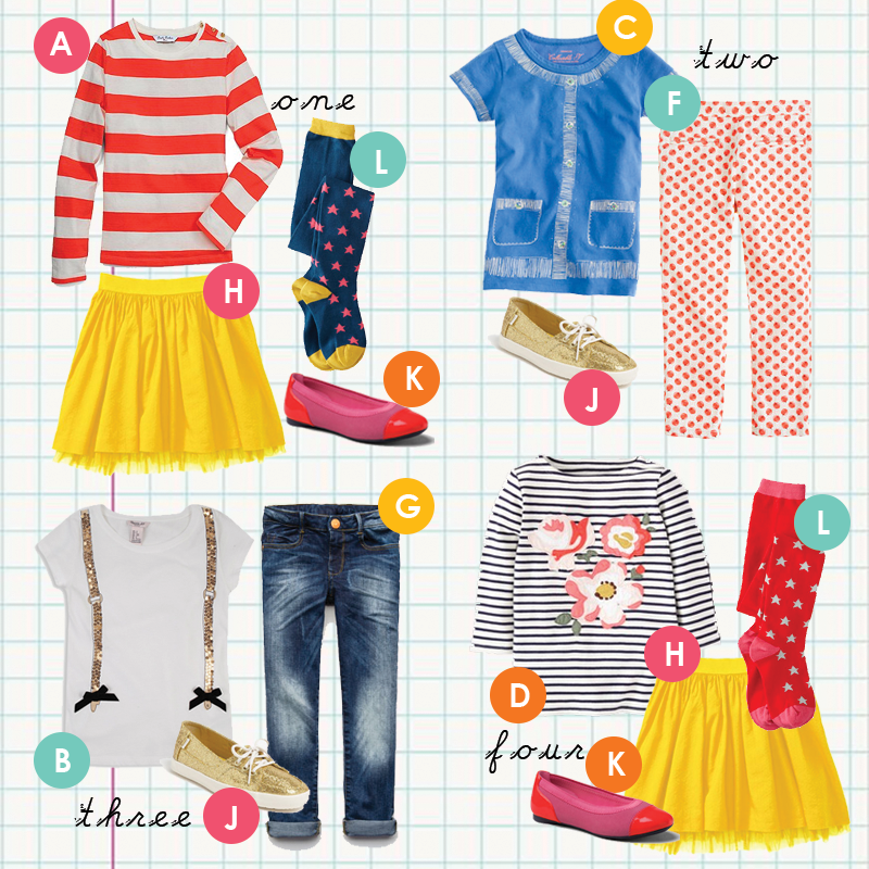 Back to School for Girls in 13 Items