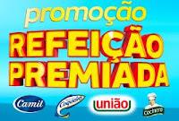 Promoção Refeição Premiada Camil, Coqueiro, União e Cocinero refeicaopremiada.com.br