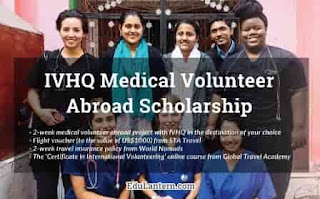 Medical Volunteer Abroad Scholarship for Medical Students and Professionals, 2018