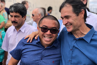 Vereador Alexandre comemora requerimentos atendidos no anuncio de asfaltamento de 125 ruas em Campina