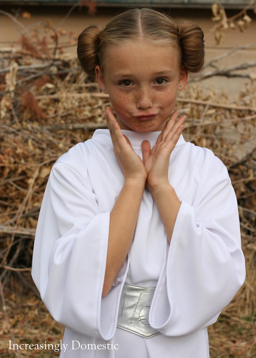 Handmade Princess Leia Costume  sc 1 st  Increasingly Domestic & Increasingly Domestic: Handmade Princess Leia Costume