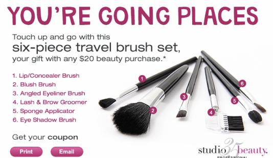 The Frugal Family Life Walgreens Free Six Piece Travel Brush Set W