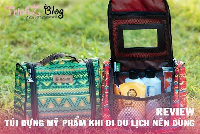 [REVIEW] Top 3 loại túi đựng mỹ phẩm hữu ích khi đi du lịch
