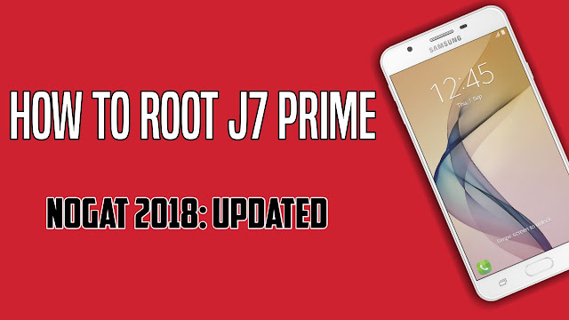 How to root J7 Prime