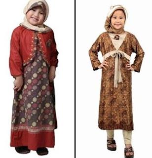 foto baju terbaru untuk anak muslimah