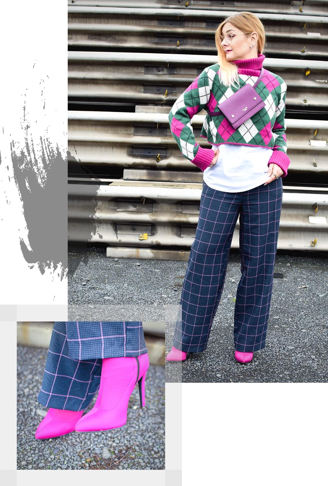 Wie kombiniere ich einen Cropped Pullover