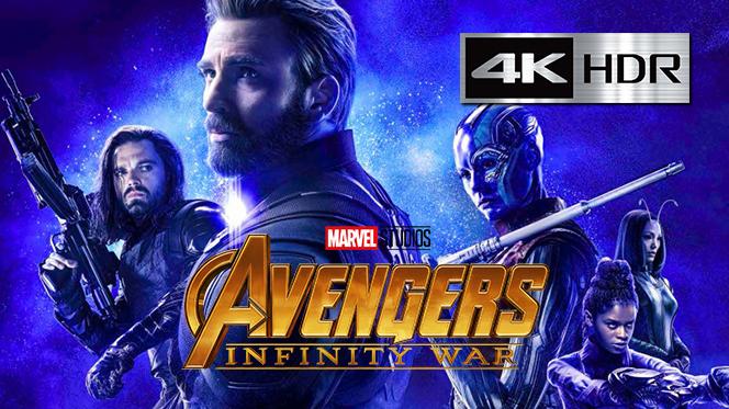 Avengers: Infinity War (2018) 4K UHD [HDR] Latino-Castellano-Ingles