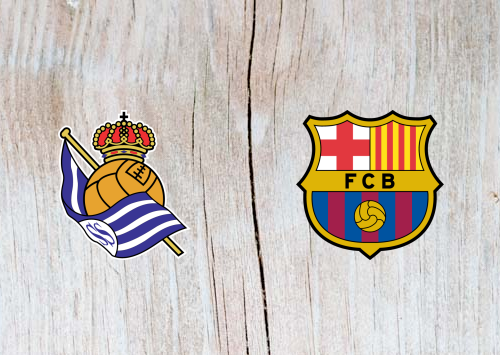 Real Sociedad vs Barcelona Full Match & Highlights 15 September 2018