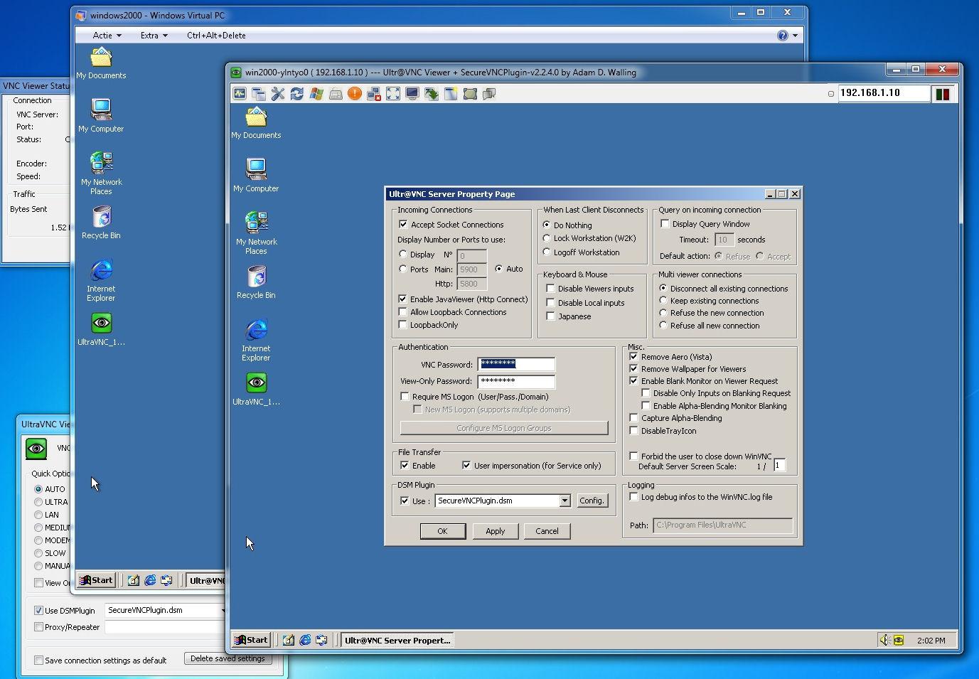 UltraVNC - Bilgisayarı Uzaktan Kontrol Etmek İçin 20 Program