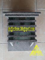 Lampion tempel  batu candi, batu merapi, batu hitam