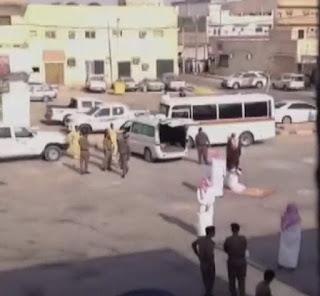 Public execution in Saudi Arabia (file photo)