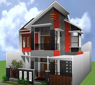 Desain Rumah Minimalis Lantai 2 Type 21 Terbaru