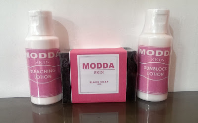 Body Bleaching Set by Modda Skin