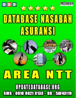 Jual Database Nasabah Asuransi Nusa Tenggara Timur