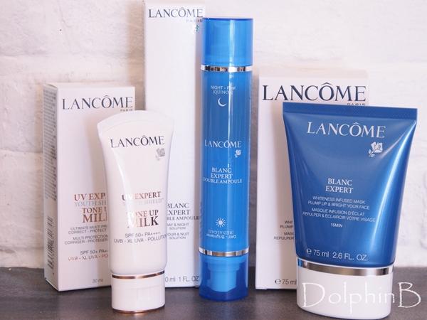Lancome Blanc Expert series 2018 推出全新美白產品~