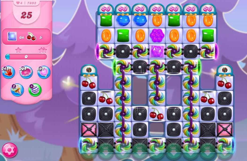 Candy Crush Saga level 7892