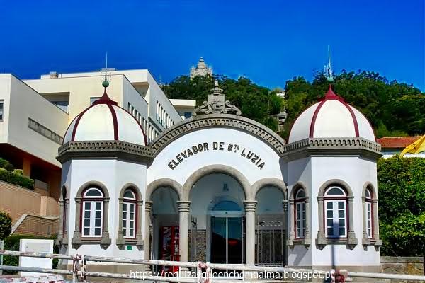 Estação do elevador de Santa Luzia