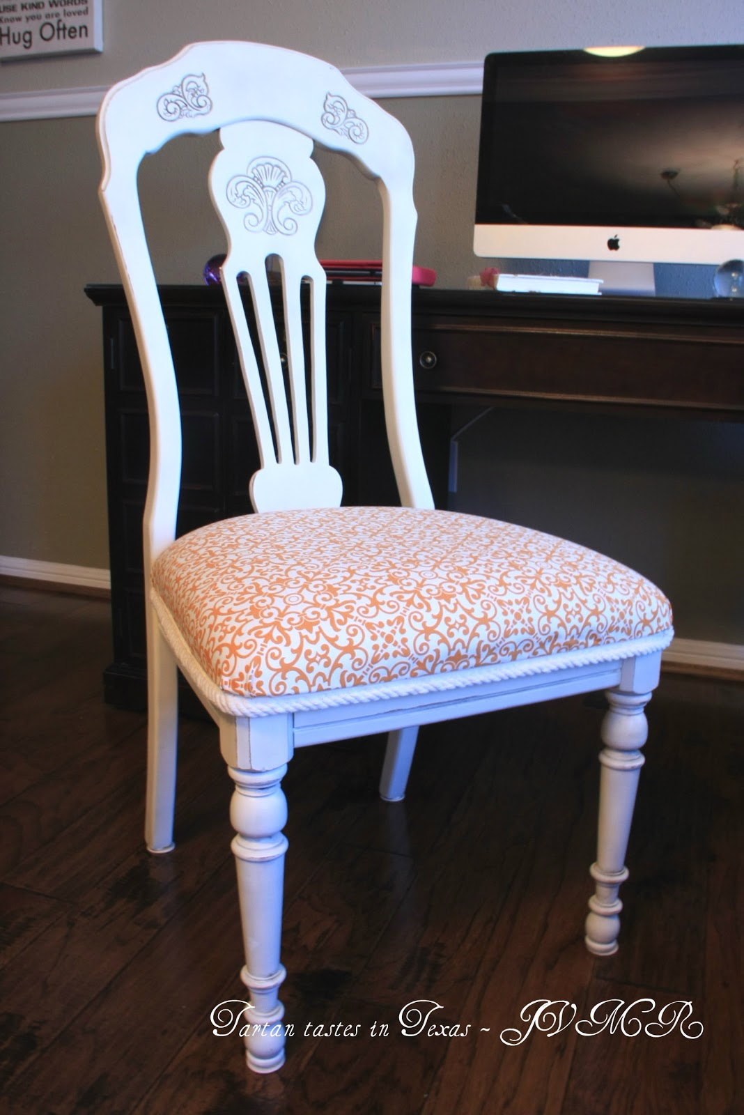 diy dining chairs makeover gel chair cushion tartan tastes in texas wordless weekend